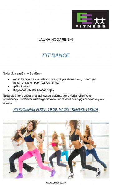JAUNA NODARBĪBA - FIT DANCE